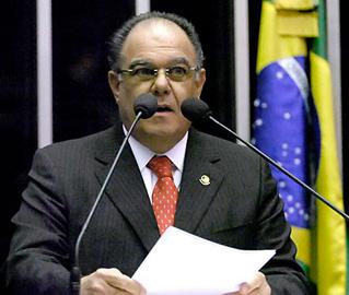 João Faustino deve continuar preso pelo menos até sábado - Geraldo Magela/Senado