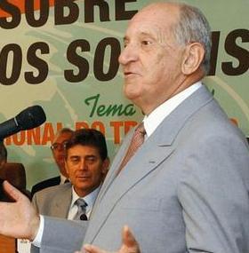 Além de ministro, Maurício Corrêa militou na política. Foi senador e candidato a vice-governador. Foto: Antonio Cruz/ABr