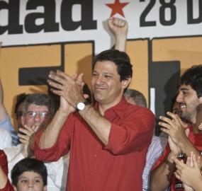A vitória de Fernando Haddad em São Paulo é o maior trunfo do PT nas eleições municipais deste ano