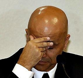 Marcos Valério, em depoimento à CPI dos Correios, em 2005: de lá para cá, ele deu versões diferentes sobre o mensalão