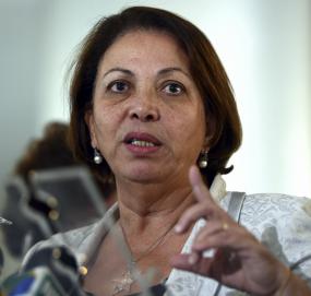 Ideli apresentou nova proposta aos líderes da base aliada para tentar evitar derrubada de veto no Congresso