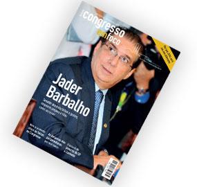 Capa da nova edição da revista, disponível para assinantes nas versões impressa e digital