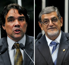 Lobão Filho e Mário Couto foram os senadores que mais acumularam faltas na legislatura passada