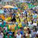 No Rio, protestos contra a corrupção também reuniu apoiadores da intervenção militar