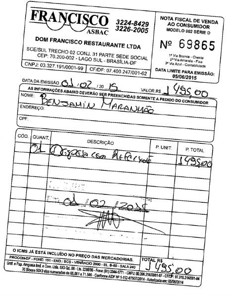 Câmara  paga R$ 1.495 por almoço de deputado