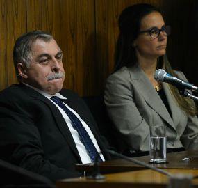 Catta Preta e um de seus ex-clientes, Paulo Roberto Costa: preocupação com integridade da família
