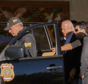 Dirceu está preso na carceragem da PF em Curitiba
