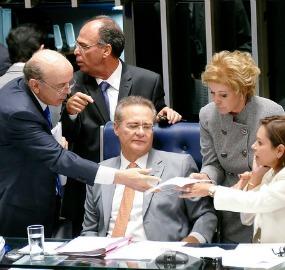 Serra teve apoio de Renan para aprovar projeto