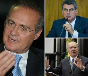 """""""Grampeados"""" por Machado, Renan, Jucá e Sarney negam envolvimento em irregularidades"""