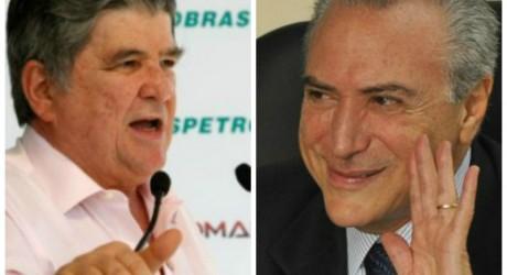 Apadrinhado do PMDB na Transpetro, Machado se torna fonte de preocupação para Temer