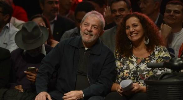 Sem PT no Rio: Lula apoia Jandira, do PCdoB, à prefeitura carioca