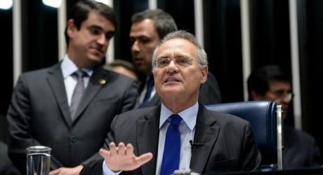 """""""Posição institucional"""": Renan sobe o tom das críticas à PGR na principal cadeira do Senado"""