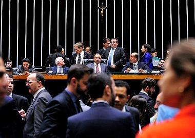 Maranhão presidiu parte da sessão, mas foi substituído