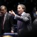 Líder do PMDB no Senado, Eunício anunciou a impossibilidade de acordo no final da sessão plenária