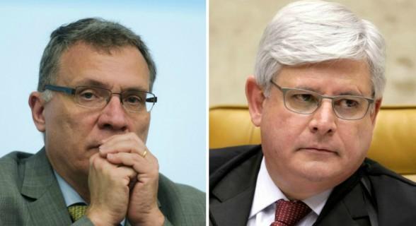 Aragão e Janot: de amigos inseparáveis a desafetos no Ministério Público