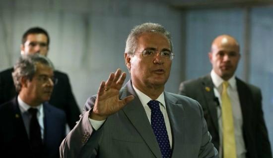 STF julgará nesta quarta afastamento de Renan da presidência do Senado