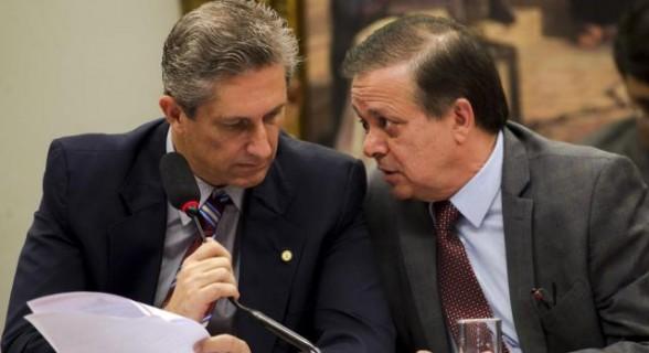 Rosso e Jovair comandaram a comissão especial do impeachment na Câmara