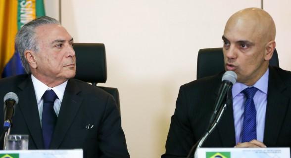 Ato confirma a escolha de Temer pelo tucano, que já se licenciou do Ministério da Justiça