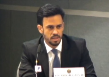 Vice-presidente da Abrig Eduardo Galvão