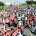 Ato em Brasília reuniu cerca de 10 mil pessoas, segundo a Polícia Militar
