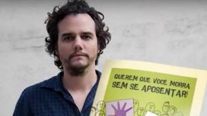 O ator foi o protagonista em um vídeo do MTST que explicava pontos da proposta da reforma da Previdência