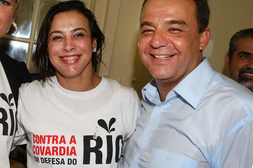 Resultado de imagem para Ex-primeira dama do Rio vai cumprir prisão preventiva em casa