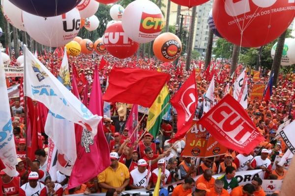 Resultado de imagem para centrais sindicais