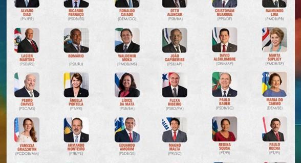 Randolfe divulgou a relação dos 41 senadores que apoiaram a urgência para a votação da proposta