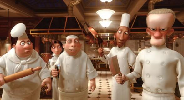 A cozinha maravilhosa da animação Ratatouille