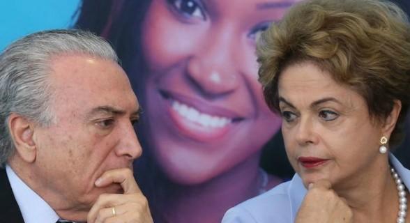 Dilma e Temer concordam, enfim, num ponto