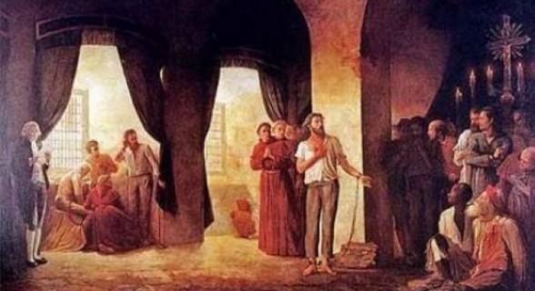 Tiradentes em pintura histórica