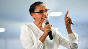 Presidente da Rede Sustentabilidade, Marina defende eleições diretas