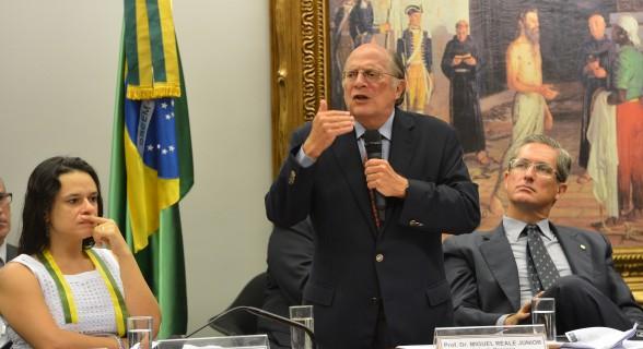 Miguel Reale Júnior, autor do pedido de impeachment de Dilma, afirmou que deixará o PSDB