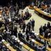 Plenário lotado abriu caminho para recesso parlamentar