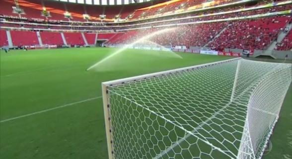 O estádio consumiu em único mês mais do que consumiu desde a sua reinauguração em 2013