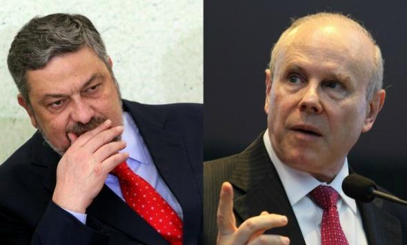 Palocci afirma que Mantega vendia informação a banco
