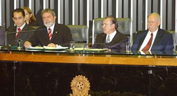 Lula, Sarney e José Alencar