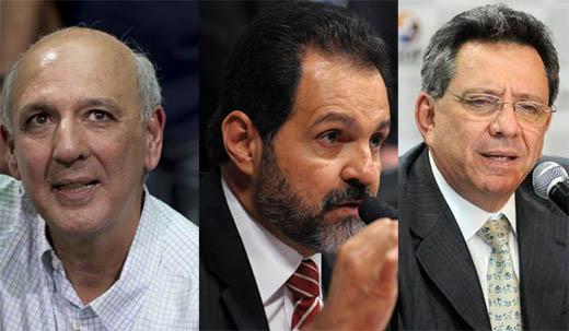 Arruda, Agnelo e Filipelli foram indiciados pela PF