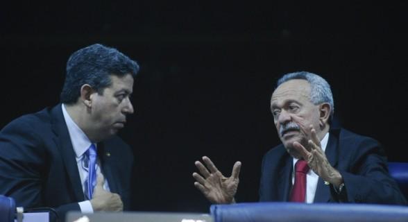O deputado Arthur Lira e o senador Benedito de Lira