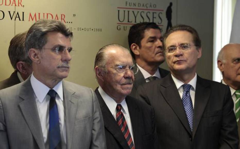 PGR denuncia Renan, Jucá, Sarney, Raupp, Garibaldi e mais três ao STF