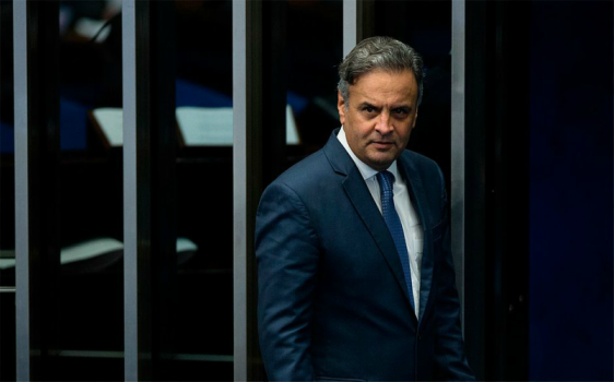 Marco Aurélio determina quebra de sigilos fiscal e bancário de Aécio Neves