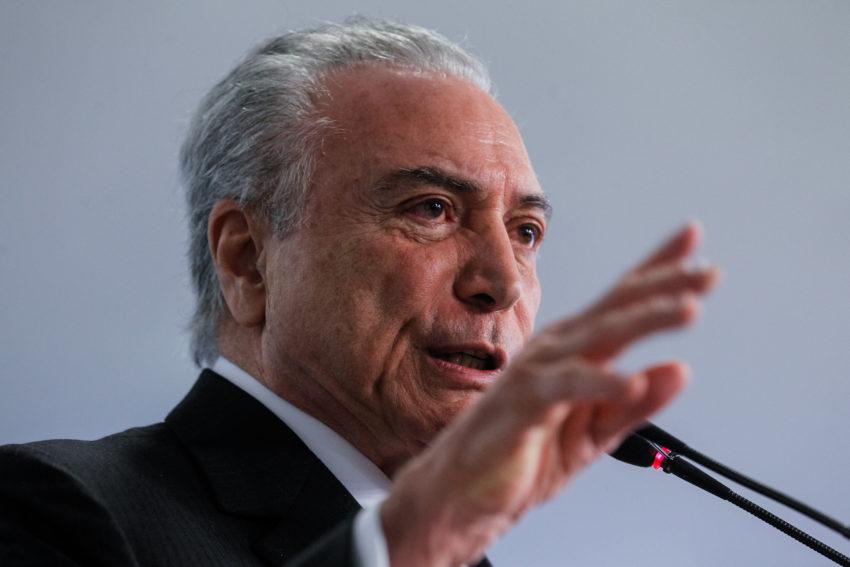 Governo liberou R$ 65 milhões em emendas no dia em que Janot denunciou Temer