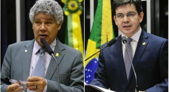 Chico Alencar e Randolfe Rodrigues foram escolhidos pelos jornalistas como melhores parlamentares de 2017