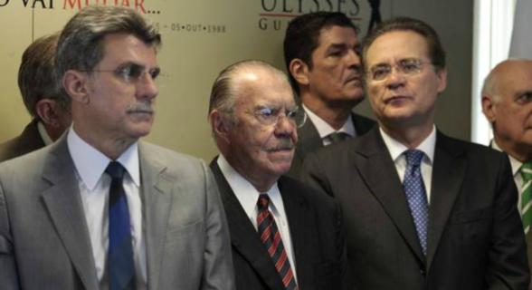 Jucá, Sarney e Renan eram suspeitos de atrapalhar as investigações da Operação Lava Jato