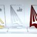 Os troféus foram projetados pela artista plástica Suzana Gouveia