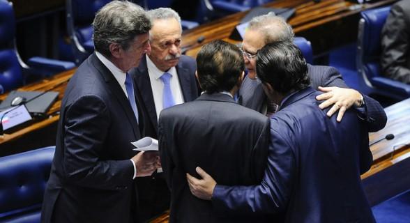 Renan, Collor, Benedito de Lira, Eduardo Braga e