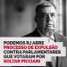 Romário diz que atuação dos deputados está na contramão do seu partido