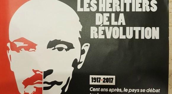 Revista francesa Courrier Internacional destaca revolução russa na capa
