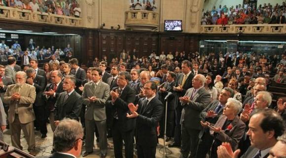 Plenário da Alerj vai decidir destino dos peemedebistas, presos sob acusação de diversos crimes