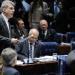 O texto aprovado foi o relatório do senador Romero Jucá (PMDB-RR), que apresentou três emendas de Plenário
